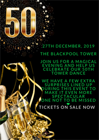 Blackpool Tower Christmas Dance poster