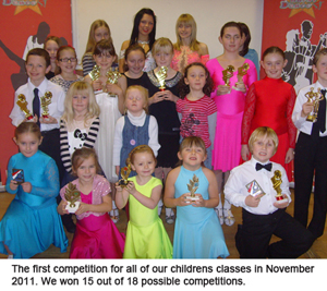 Photo of childrens awards
